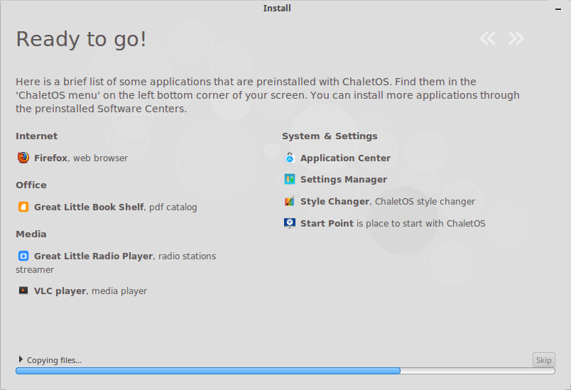now-installing
