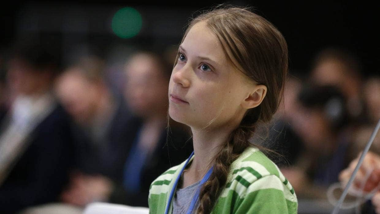 Listless Miss. Greta Thunberg
