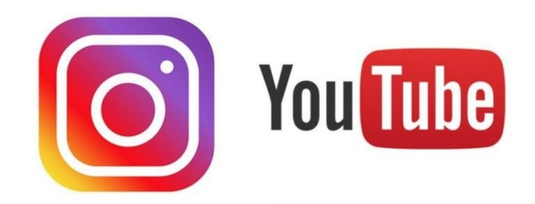 Logo for Instagram and YouTube